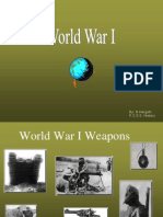 weapons of world war one