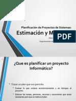 Estimación, Costes de Proyectos - curso vacacional
