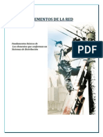 ELEMENTOS DE UNA RED DE DISTRIBUCIÓN ELÉCTRICA