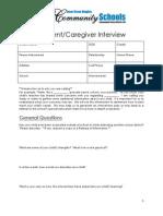 isd 199 parent interview 2013-2014