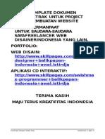 52677979 Perjanjian Kontrak Disain Web Site