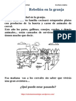 Escritura Creativa Navidad Rebelic3b3n en La Granja