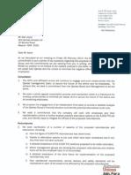 Alan Joyce Letter 3 March 2014 Docx