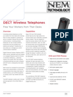 Endpoints - In-Building Wireless - DeCT R4 - Fact Sheet - 3720 and 3725 NEM Technology