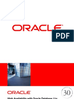 High Availability With Oracle Database 11g