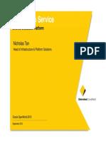 Presentation - Oracle as a Service Shared Database Platform