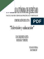 Television y Educacion