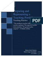 Preparing a Teaching Portfolio by Rhina Benitez