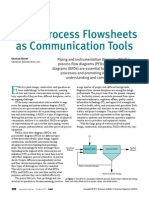 Using Process Flow Sheets