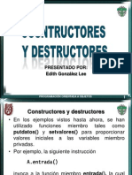 Constructor Esy Destructor Es Final