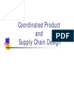 9 Coordinated Product and Supply Chain Design [Compatibility Mode]