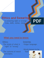 profanity and other bad things