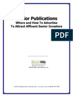 Senior Publications Where and How To Advertise To Attract Affluent Senior Investors