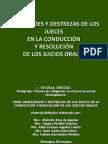 Habilidades y Destrezas de Los Jueces Nicaragua