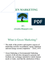 Presentation on Green Marketing