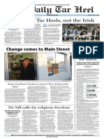 The Daily Tar Heel for March 4, 2014