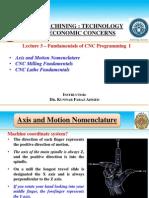 3 Fundamentals of CNC Programming I (CNC Course CD)