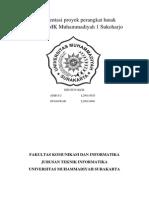 Dokumentasi Prtugasoyek Perangkat Lunak