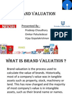 Final Ppt Brand Valuation