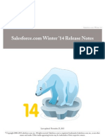 Salesforce Winter14 Release Notes ASiond aiosndiao sd