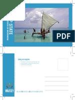 Yap State - Micronesia - Traditional Life Series - Postcard #1