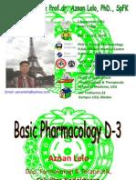2-Basic Pharmacology D 3 2010