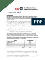 CompTIA Storage Exam Objectives