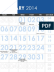 2014 kw ptsa calendar ppt