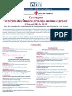 2014.03.06 Roma - Diritto Dei Minori