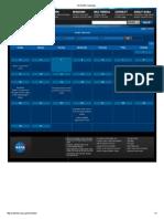 All NASA Calendars