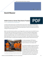 NASA Science Solves Real-World Problems _ David Weaver