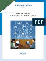 SETLabs Briefings Software Validation