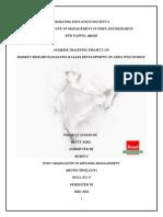 62330899 Amul Summer Intern Project Report 2011