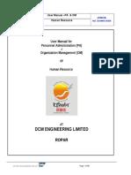 User Manual HR