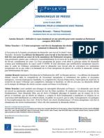 CP Force Vie - Journée européenne pour un dimanche chômé