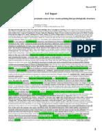 Structural Violence Impact File - DDI 2013 KQ