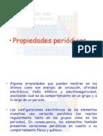 Tabla Periodica Propiedades Periodicas
