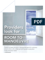 Providers Look for Room to Manoeuvre
