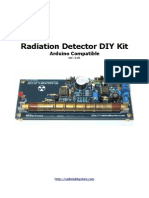 DIY Geiger Counter Radiation Detector Kit Ver.2