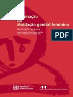 DECLARAÇÃO - Eliminação da Mutilação Genital Feminina