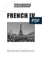 French IV Reading Booklet