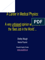 A Career in Medical Physics