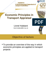 Day 1 - Economic Principles in Transport - LH