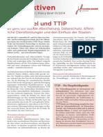 Perspektiven 1 2014 TTIP Und Freihandel