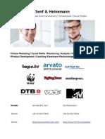 Portfolio Senf & Heinemann, Berater für Digitale Kommunikation  / Social Media Marketing Beratung