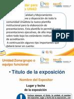 Plantilla Estandar Para Presentaciones Power Point UNAD 004-015-1