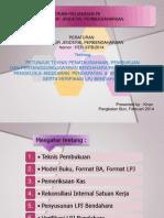 Sosialisasi PER-3-PB-2014 Aturan LPJ Baru