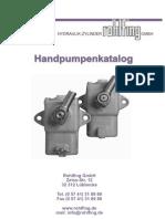 Pompa Hidraulica Manuala Beton