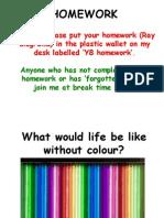 Tue Colours Powerpoint