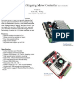 3 Axis Stepping Motor Controller